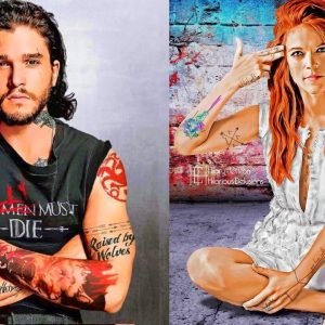 If Game Of Thrones Characters Had Tattoos