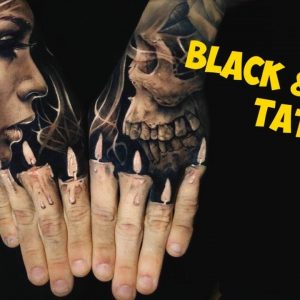 Incredible Black and Grey Tattoo Inspiration