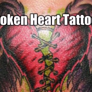 Incredible broken heart tattoos | TATTOO WORLD