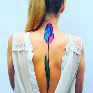 Incredible Floral Tattoos by Pis Saro