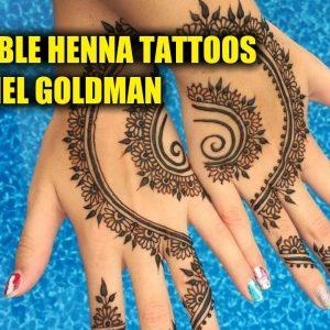 Incredible Henna Tattoos by Rachel Goldman