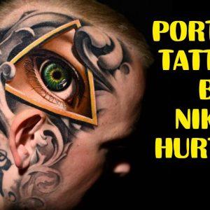 INCREDIBLE PORTRAIT TATTOOS BY NIKKO HURTADO