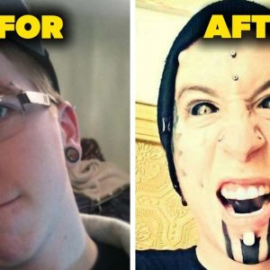 You'll Be Shocked By What This Kid Did To His Face ★ Extreme body modification BEFOR & AFTER