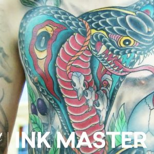 Cleen Rock One's Winning 35 Hour Master Canvas | Ink Master: Grudge Match (Season 11)