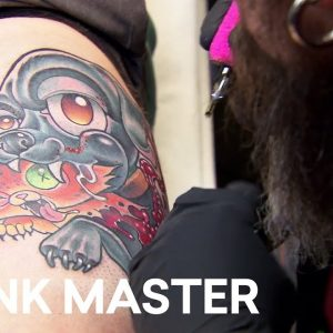 'New School Tattoo' Elimination Challenge Highlight | Battle of the Sexes (Season 12)