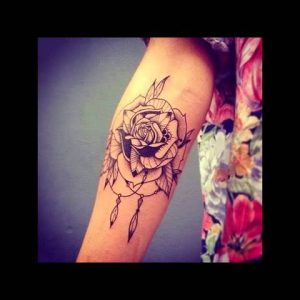 Lovely Rose Tattoos And Designs