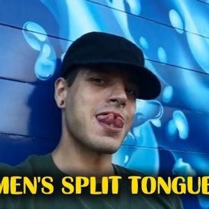 Men's Split Tongue ★ Compilation #1