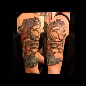 Moon Tattoo Designs