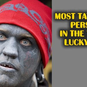 Most Tattooed Person Lucky Diamond Rich