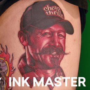 Monochromatic Portraits - Elimination Tattoo | Ink Master: Return of the Masters (Season 10)