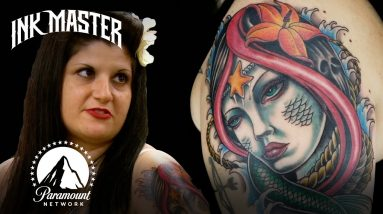 """""""He Added Something Without Telling Me"""" Angry Tattoo Canvas Returns   Ink Master Redemption Story"""