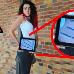 People Reveal Tattoos Under Clothes Using iPad As An X-Ray