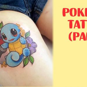 Pokemon Tattoos For Fans Who Want To Catch Them All (part 2)
