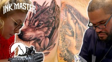 Realism & Animal Tattoo Showdown Highlight   Grudge Match