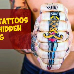 Really Clever Tattoos With A Hidden Meaning