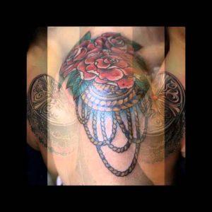 Shoulder Pad Tattoo Designs