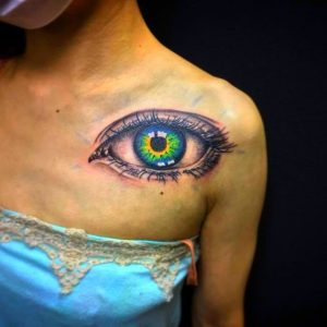 Super Realistic Eye Tattoos To Blow Your Mind