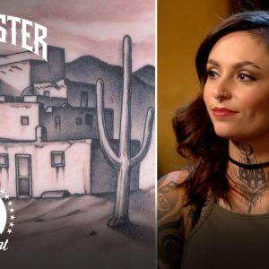 Taos Pueblo Tattoo | Ink Master & Jack Daniel's