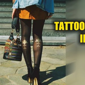 Tattoo Tights ► Illusion Your Legs Have Been Inked