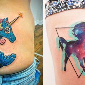 The 20 Most Fabulous Unicorn Tattoos