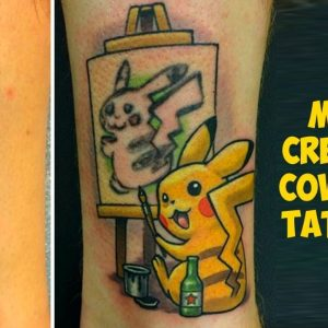 The Most Creative Cover Up Tattoo Ideas