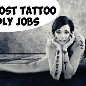 The most tattoo friendly jobs: 10 examples