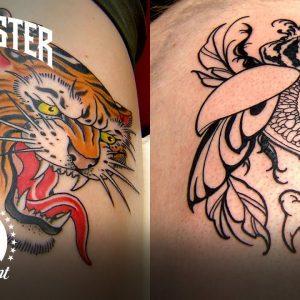 Tiger Head Tattoo Showdown Highlight | Grudge Match