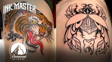 Tiger Head Tattoo Showdown Highlight   Grudge Match
