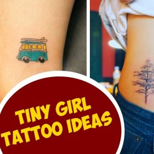 Tiny Girl Tattoo Ideas For Your First Ink