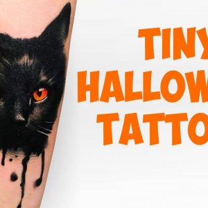 Tiny Halloween Tattoos That You Have To See Before Friday the 13th
