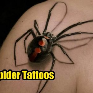 TOP 10 Best Spider Tattoo Designs & Meanings | TATTOO WORLD