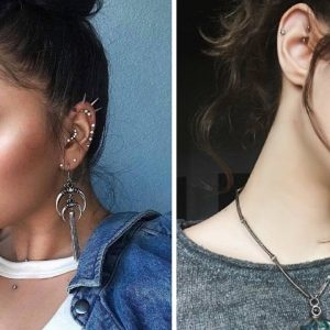 Top 15 Different Types of Ear Piercings