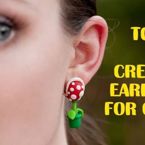 TOP 20 Most Creative Earrings For Girls