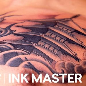 'Japanese Temple Tattoos' Elimination Official Highlight | Ink Master: Grudge Match (Season 11)
