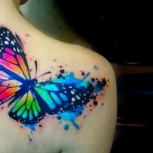Watercolor Tattoos That Will Convince Every Woman To Get Inked