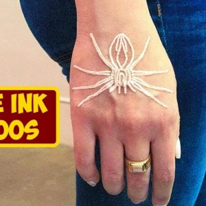 White Ink Tattoos That Will Catch Your Eye