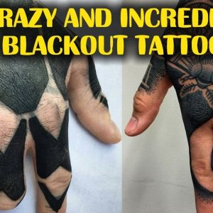 You are Going Crazy For These Incredible Blackout Tattoos