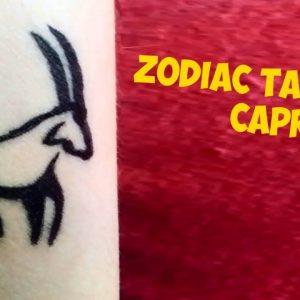Zodiac Signs Tattoos: Capricorn