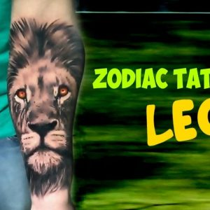 Zodiac Signs Tattoos: LEO