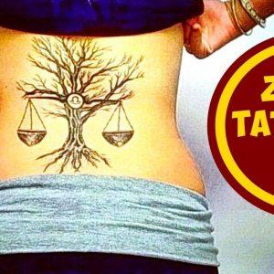 Zodiac Signs Tattoos: Libra