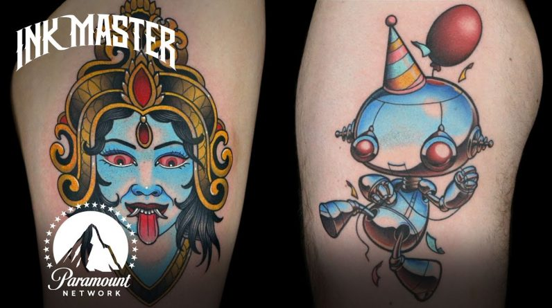 Best Tattoos Designed By Other Artists 🎨 Ink Master
