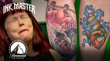 Ink Master's Worst Tattoos of Season 13 😟 Part 1