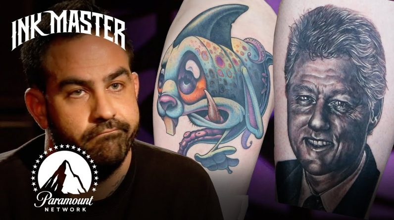 The Worst Tattoos Of Season 7 (Part 2) 😦 Ink Master