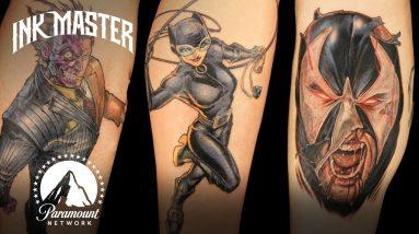 The Best (& Worst) Supervillain Tattoos | Ink Master