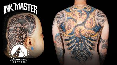 Best (& Worst) Biomechanical Tattoos ⚙️ Ink Master