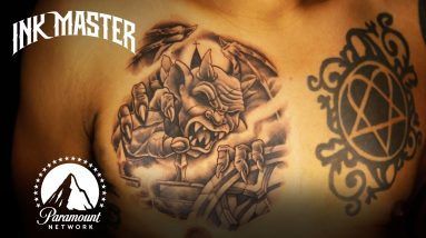 Difficult Human Canvas SUPER COMPILATION | Ink Master