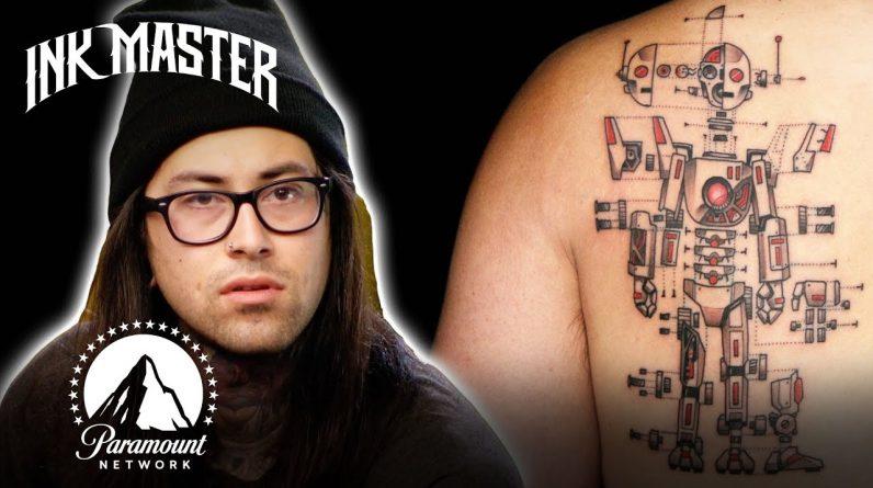 Every Single Bob Jones Tattoo 🤖 Ink Master