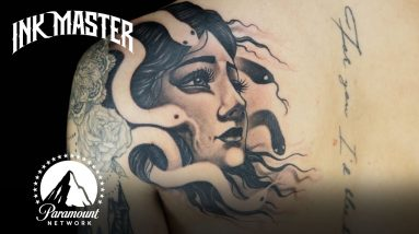 Every Single Negative Space Challenge | Ink Master